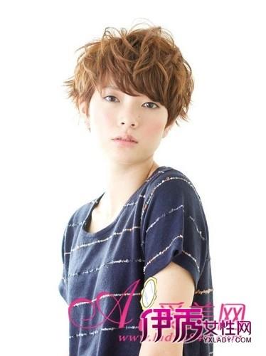 最新6款女生超短发发型 个性又帅气(2)_流行发