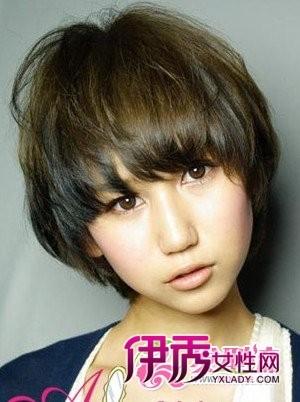 圆脸发型-俏皮可爱短发