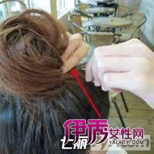 韩式花苞发型头扎法图解教程编发蓬松减龄丸子森系可爱打造多少钱奥比岛图片