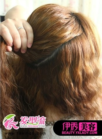 韩式侧扎麻花辫发型分享展示