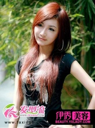 <font color=red>女生中长发发型</font> 六月盛夏相媲美(3)_流行发型_