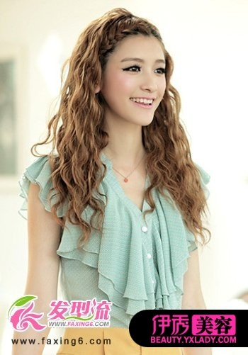 女生刘海发型设计 提升魅力气质