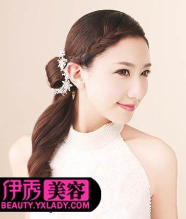 2016新娘编发发型图片大全_发型设计图片