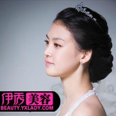 新娘发型设计 打造别样美丽新娘发型图片
