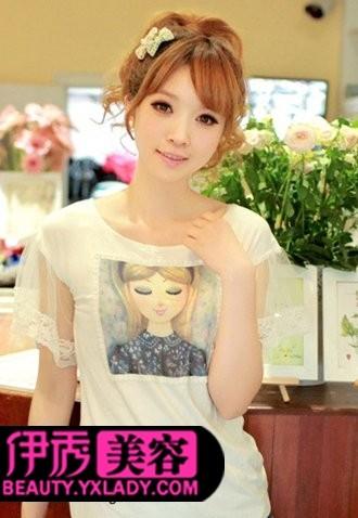 刘海发型设计 时尚刘海发型图片分享