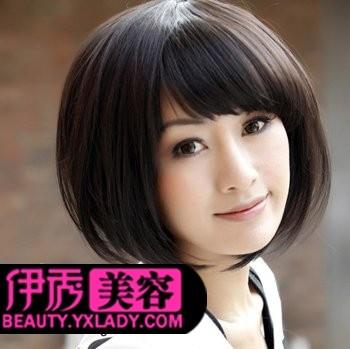 2011年沙宣波波头短发发型图