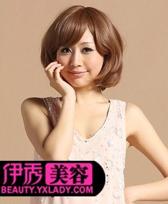 发型图片 清爽女生短发发型