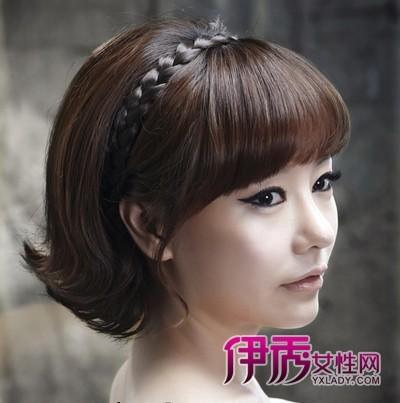 韩式最美新娘短发造型