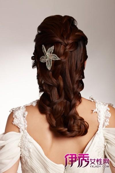 分享婚礼新娘盘头发型图片