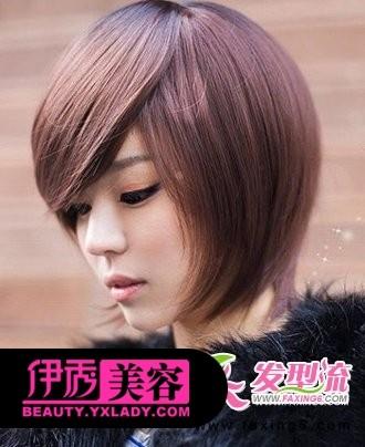 男士平刘海短发发型无刘海短发发型