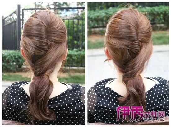 淑女辫子发型扎法图解分享展示