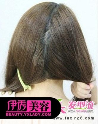 猫耳朵发型编发分享展示