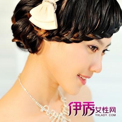 新娘卷发造型高清图片下载_发型设计图片