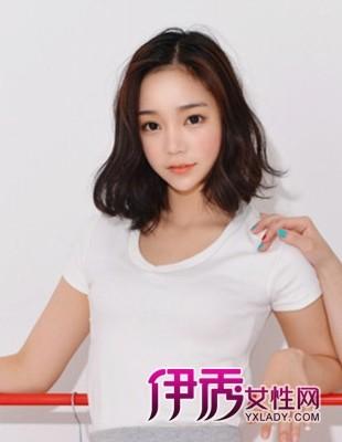 韩国UL红人修颜显嫩短发发型(5)_流行发型_美