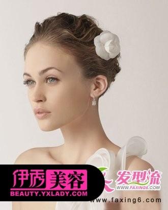 2013年春季时尚新娘发型图片大全