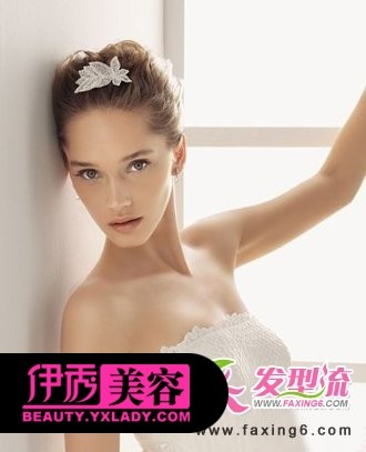 气质型新娘发型图片