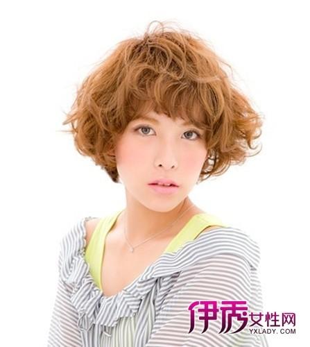 短发烫发发型(2)图片图片