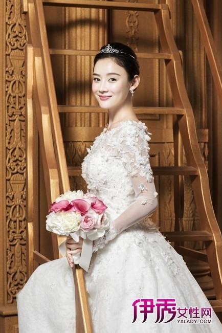 袁姗姗登杂志封面美妆 典雅气质大片似娇媚新娘图片