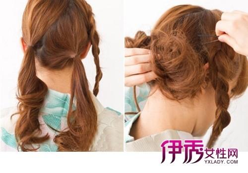 中年韩式发型 韩式发型盘发图解