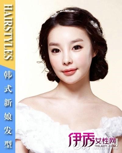 韩式新娘发型婚礼发型我做主