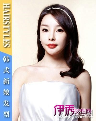 韩式新娘发型步骤 婚礼韩式新娘_发型设计图片