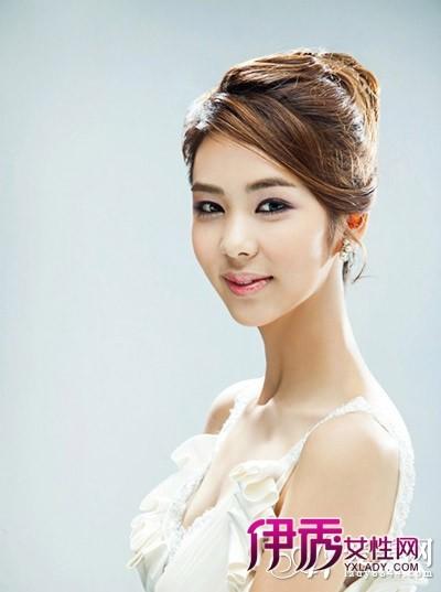 最新韩式新娘发型更唯美