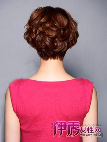 韩式烫发短头发发型怎样打理好看图片
