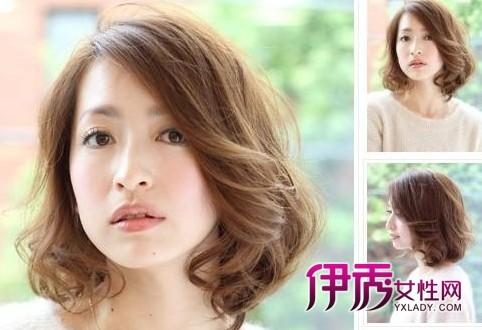 2014女生流行短发发型图片