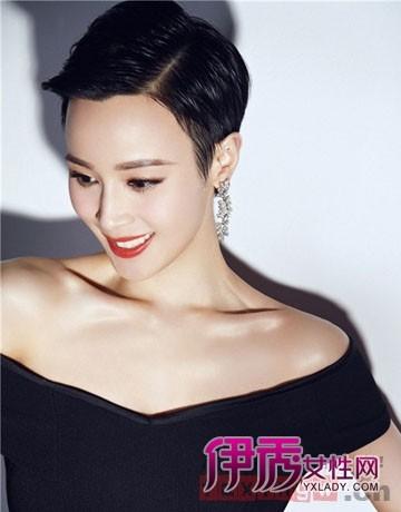 知性短发发型图片2014女 图片合集图片