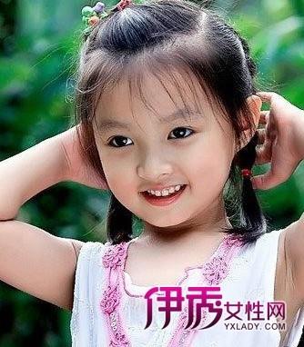 小姑娘发型纯真可爱小靓女必备图片