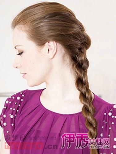 简易发型长发的扎法 ol编发盘发显优雅干练