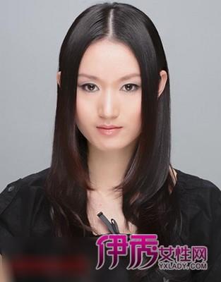 圆脸烫什么发型好看 圆脸修颜烫发发型图片