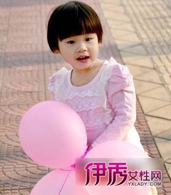儿童可爱短发发型图片欣赏(2)