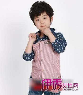 儿童可爱短发发型图片欣赏(4)