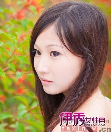 流行头像长脸的修颜发型v头像(5)_适合女生_美二次女生qq元发型图片