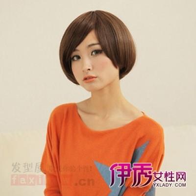 适合矮个子女生的发型图片