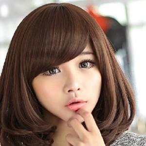 2014韩式中短发发型短发烫发造型图片