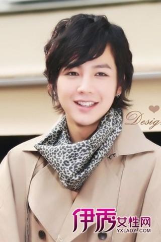 韩国男明星示范最帅的发型最流行发型