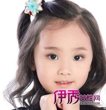 超萌的小女孩短发发型图片