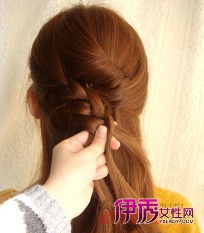 自己编头发步骤简单 简单编头发步骤图解 编头发花样步骤图解