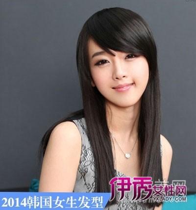 2014年韩国女生发型长发最流行图片