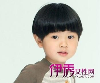 锅盖头小说_可爱小男孩锅盖头短发造型设计