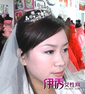 教你做新娘结婚当天发型图片