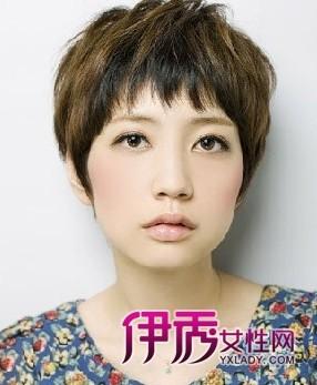短发适合小圆脸合适的发型图片