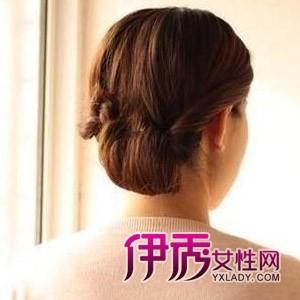 盘发发型图片图片