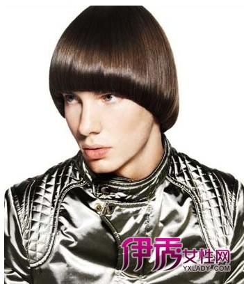 男生空气刘海发型图片图片