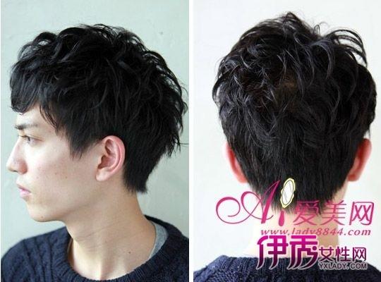 最新男生发型设计 纹理烫显阳光俊朗 (540x400)图片