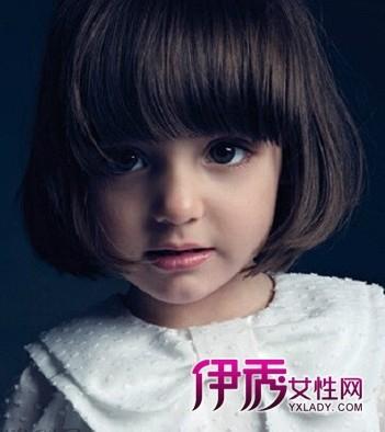 可爱女宝宝短发发型图片