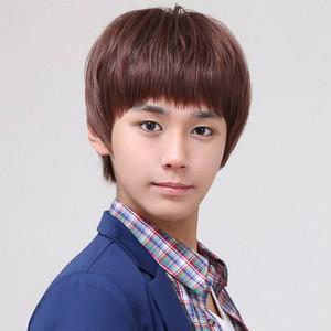 男生齐刘海短发烫发发型适合什么脸型图片