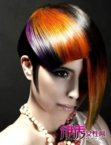 2018流行女生个性发型图片及男生个性发型